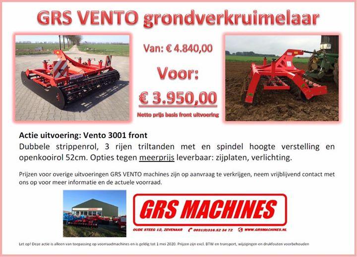 GRS Vento ACTIE op voorraad