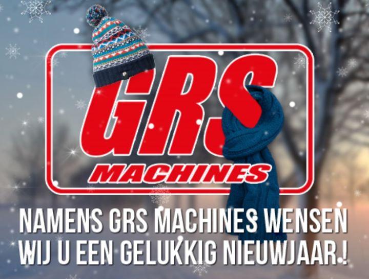 Namens GRS Machines wensen wij